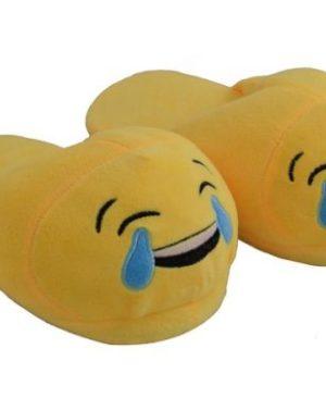Emoji Slippers - Large (Size: 8-11)