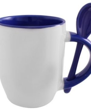 Sublimation Whirl Mug & Spoon