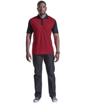 Mens Eagle Golfer - Avail in: Black/Charcoal