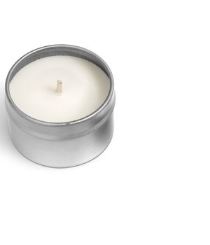 Twilight Candle - Silver