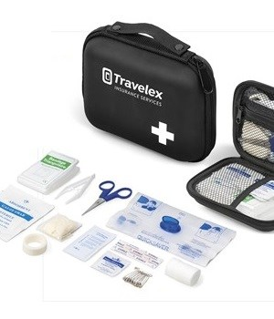 Triage First Aid Kit - Black