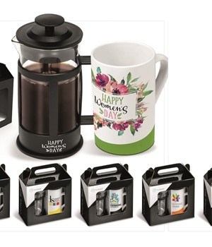 Café Noir Coffee Set - Black