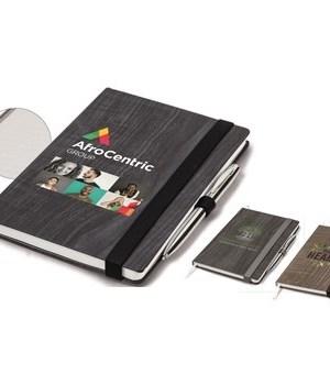 Woodstock A5 Notebook - Brown
