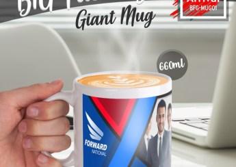 Jumbo Sublimation Mug