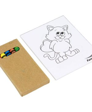 Dabble colouring set - Can take a full colour print
