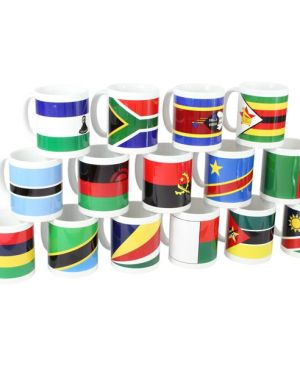 Flag Mug - Can take a full colour print