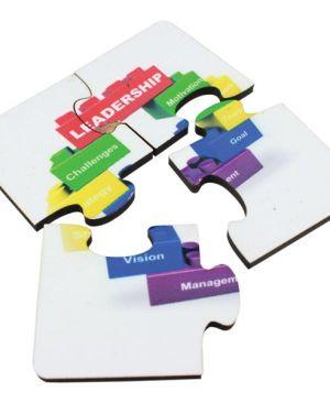 4 Piece Puzzle Magnet