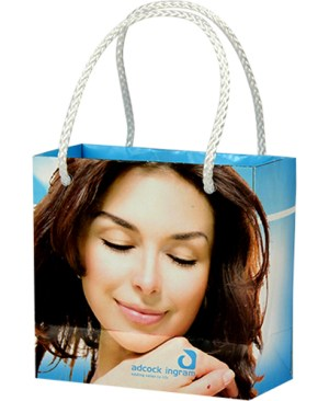 Mini Gift Bag- Can take a full colour print