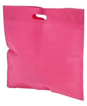 Non-Woven Shopper With Integrated Handles