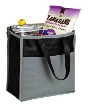 16 Can Cooler With Front Pocket - Non-Woven