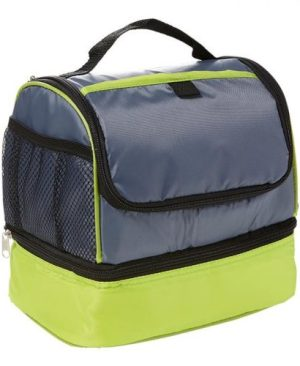 Two Tone Double Decker Lunch Cooler