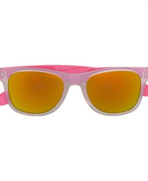 Mirror Finish Sunglasses With Coloured Sides