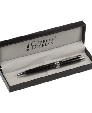 Charles Dickens Lacquered Ballpoint Pen