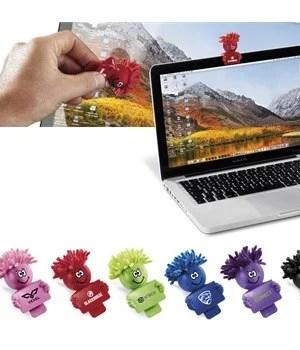 MopTopper Webcam Cover & Screen Cleaner