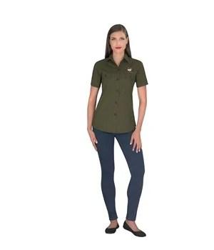 Ladies Short Sleeve Oryx Bush Shirt