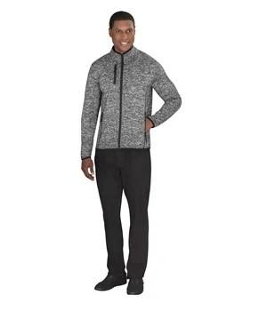 Mens Melange Patagonia Fleece Jacket