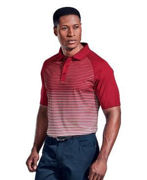 Barron Mens Apollo Golfer - Avail in: Black/Silver