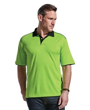 Barron Mens Leisure Golfer - Avail in: Black/Red