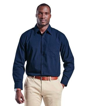 Barron Mens Basic Poly Cotton Lounge Long Sleeve - Avail in: Black