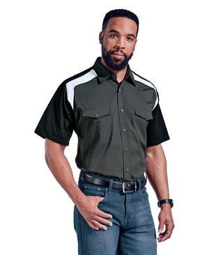 Barron Mens Raptor Shirt - Avail in: Granite/Black/White