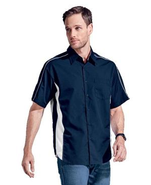 Barron Mens Seattle Lounge Shirt - Avail in: Black/Grey