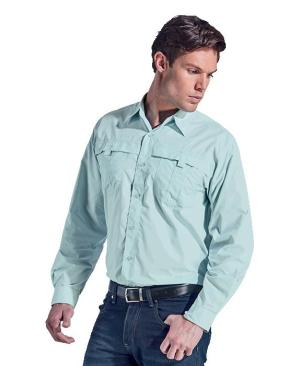 Barron Mens Trail Shirt - Avail in: Desert Tan