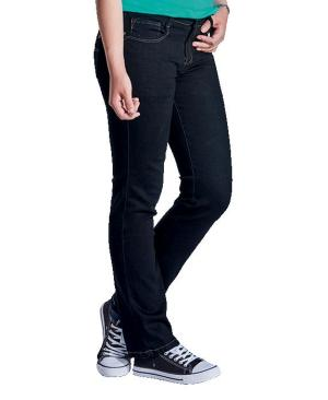 Barron Ladies Eve Stretch Jeans - Avail in: Black or Blue