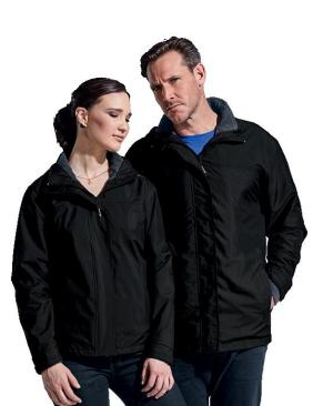 Barron Mens Nashville 3-in-1 Jacket - Avail in: Black/Charcoal or Navy/Charcoal