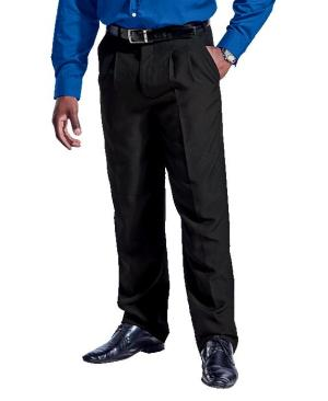 Barron Mens Statement Classic Pants - Avail in: Black or Navy
