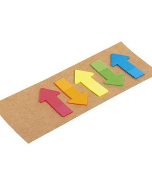 Arrow Shaped Sticky Notes - Avail in: Brown