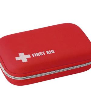 51 Piece First Aid Kit In EVA Case - Avail in: Red