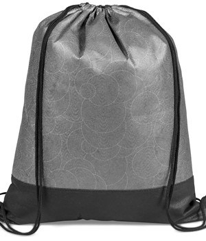 Medley Drawstring Bag - Grey