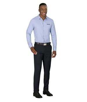 Mens Long Sleeve Wall Street Shirt