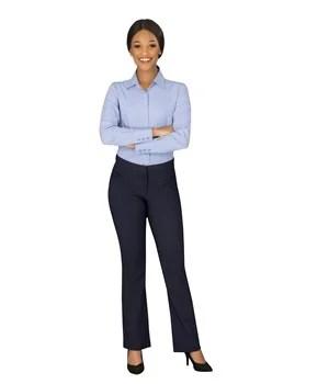 Ladies Long Sleeve Wall Street Shirt