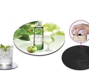 Merriment Coaster & Jar Opener - White