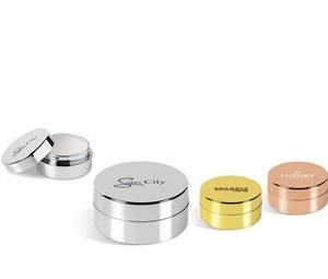 Glamorous Disc Lip Balm - Avail in: Gold