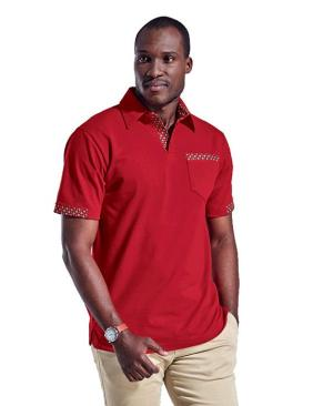 Barron Mens Tebello Golfer - Avail in: Navy/Navy