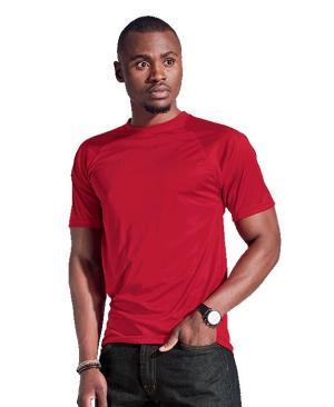 Barron 135g Barron Polyester T-Shirt - Avail in: Black