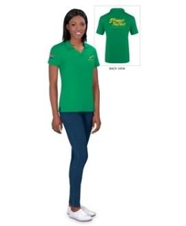 Springbok Ladies Golf Shirt - Available in: Black