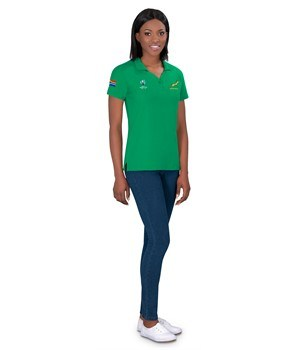 World Cup Ladies Golf shirt - Available in: Black