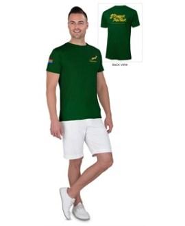 Springbok Unisex T- Shirt Option 2 - Available in: Black