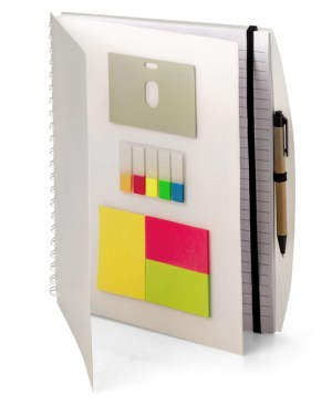 A4 Showcase Sticky Notes Notebook