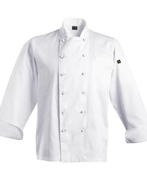 Pescara Chef Jacket - Available in: White