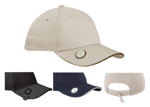 Buy 6 Panel Golf Cap with magnetic ball marker Corporate and Promotional  Gifs  31f0f25f96d