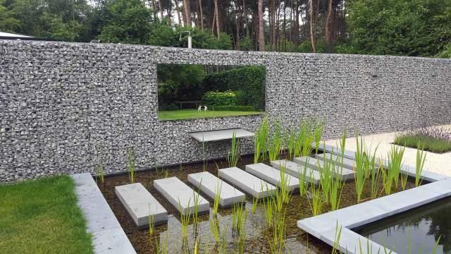 Pglas - Spiegel vergroot tuin 001