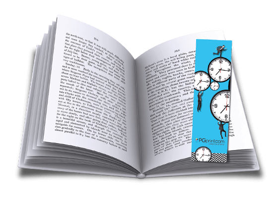 custom bookmarks online printing