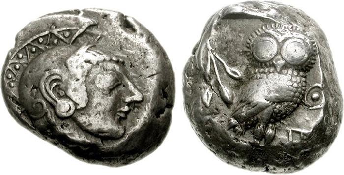 Athenian Silver Owl Coin Buyers