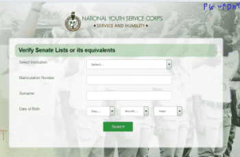 NYSC Senate List | How To Check NYSC Batch Mobilization List