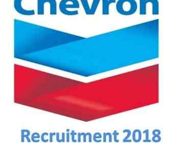 Chevron recruitment Portal 2018 - Apply Chevron Job