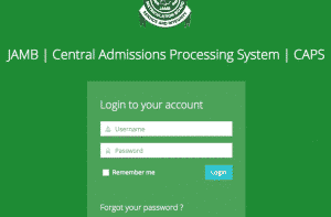 Step Guide Check Jamb Admission Status on JAMB CAPS